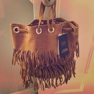 Zara fringe bag